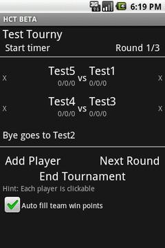 Heroclix Tournament Pairing