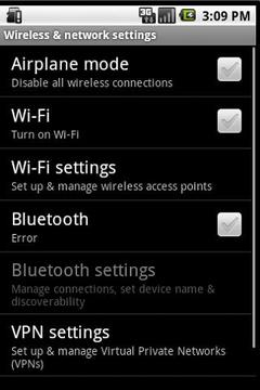 Mobile Settings Launcher