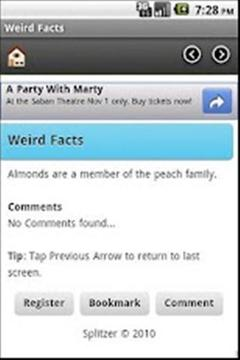 奇怪的事 Weird Facts
