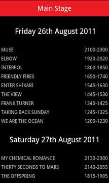 Leeds Festival 2011 Guide
