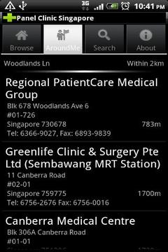Panel Clinic Singapore