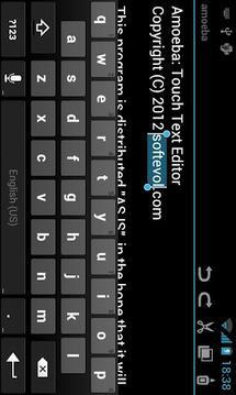 Amoeba Text Editor