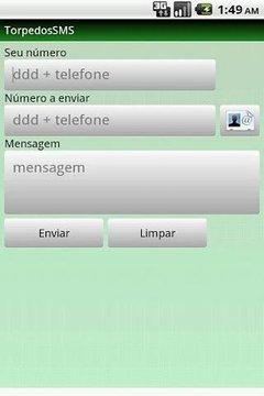 Mensagem Grátis - Torpedos SMS