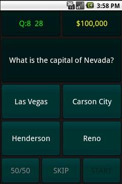 States & Capitals Trivia Quiz