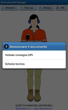 Blumatica DPI Manager