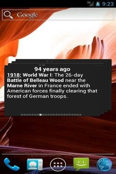 'Today in History' Widget