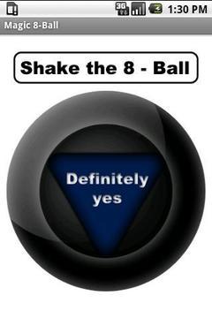 Shake the 8 - Ball