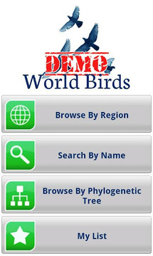 World Birds Demo