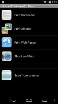 富士施乐打印和扫描
