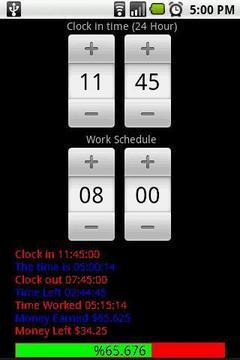 Work Clock