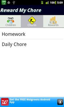 Reward My Chore