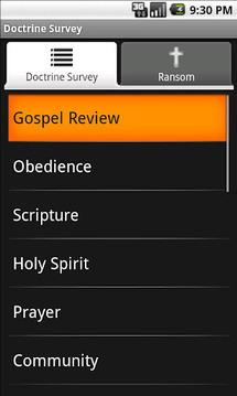 Doctrine Survey