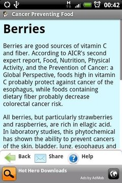 Cancer Preventing Food (Health