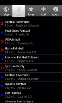 Tippmann Paintball Locator