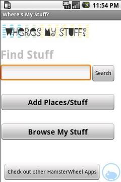 Where's My Stuff? (Lite)