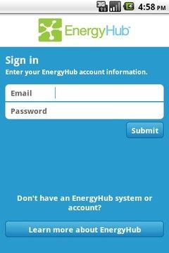EnergyHub Mobile App