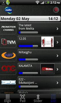 Melita netbox HD control