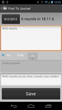 WodBox Timers