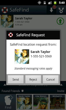 SafeFind - Share Your Location