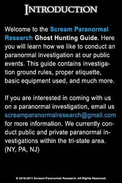 SPR Ghost Hunting Event Guide