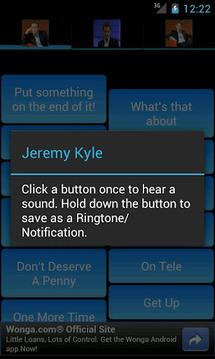 Jeremy Kyle SoundBoard