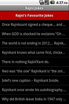 Rajni Jokes