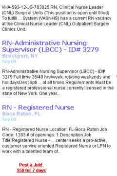 Jobs For Travel Nurses