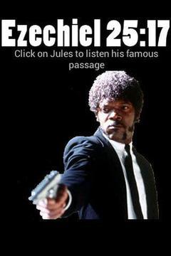 Pulp Fiction Ezekiel 25:17