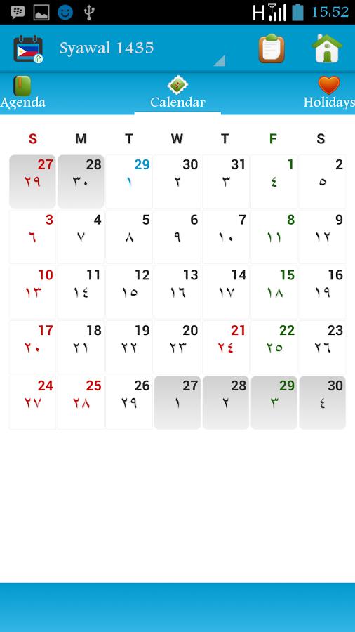 Philippines calendar 2015-2100  622a  56fe(9)