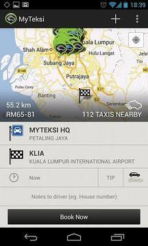 MyTeksi: Book a Taxi