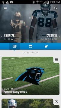 Carolina Panthers Mobile