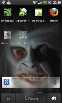 Ghost in My Phone! D':