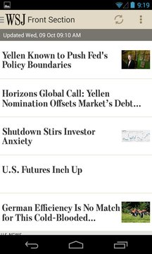 华尔街日报移动版