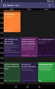 28C3 Schedule