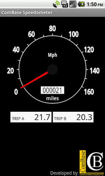 CB 车速表