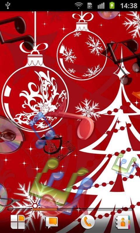 圣诞歌曲动态壁纸