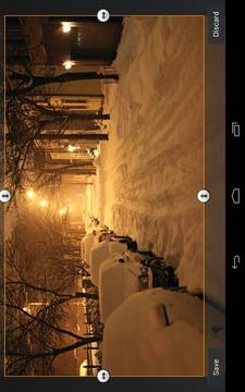 Lovely Snowfall Wallpaper Free