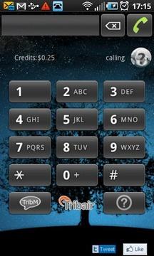 TRIBAIR:网络语音电话,会员之间拨打免费。