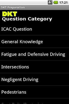 AU Driver Knowledge Test