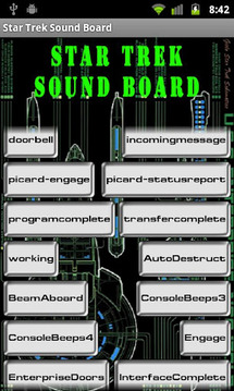 Star Trek Sound Board