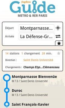 Paris metro subway guide