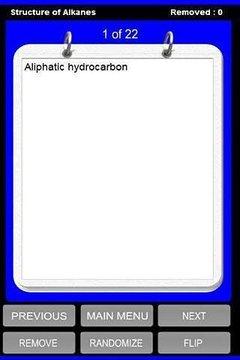 Organic Chemistry Terms
