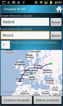 GPS Route Simulator