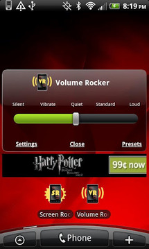 Volume Rocker