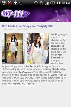 WT411 Celebrity Gossip