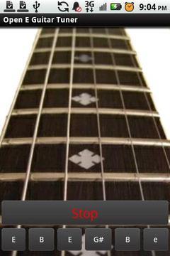 Open E Guitar Tuner