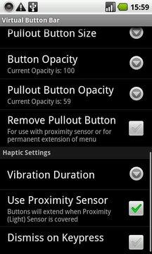 Virtual Button Bar (Trial)