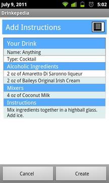Drinkepedia: Drink Recipes
