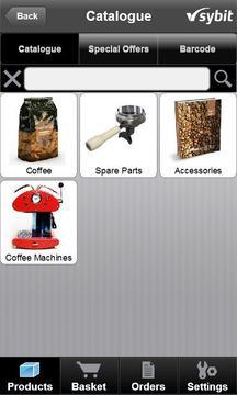 Sybit App for E-Business Cust