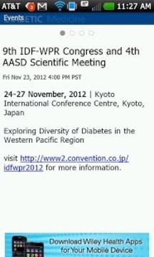 Diabetic Medicine App